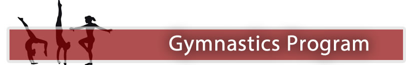 Gymnastics Program banner logo