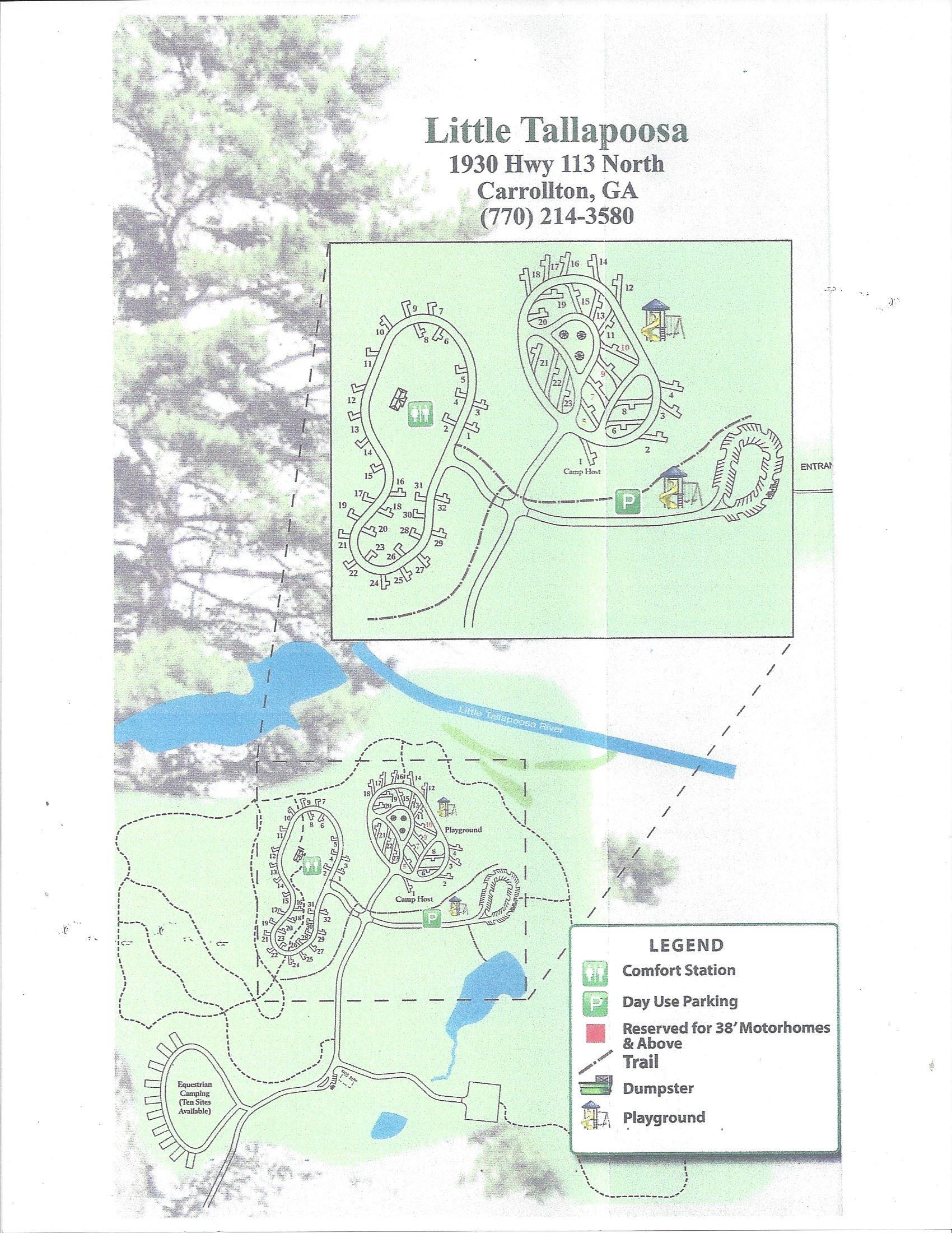 Little Tallapoosa Park | Carroll County, GA - Official Website